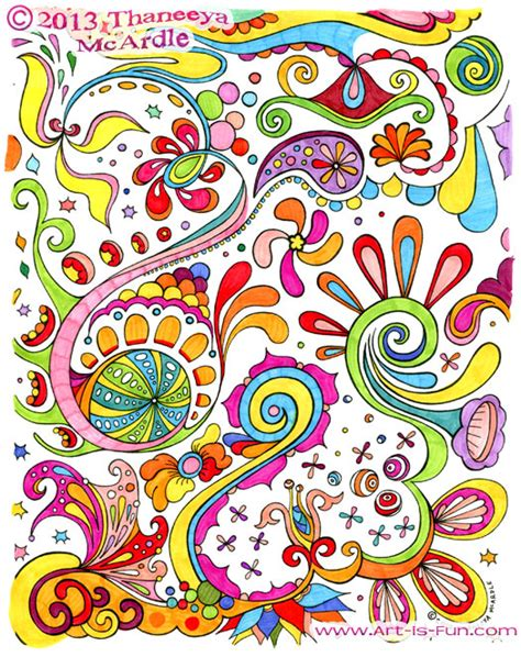 Free Adult Coloring Pages: Detailed Printable Coloring