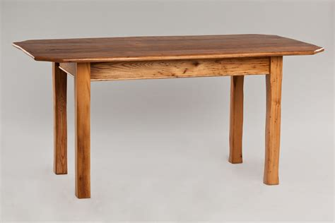 Chestnut Dining Table Made Wormy Chestnut Dining Table By Downing Woodworking Custommade