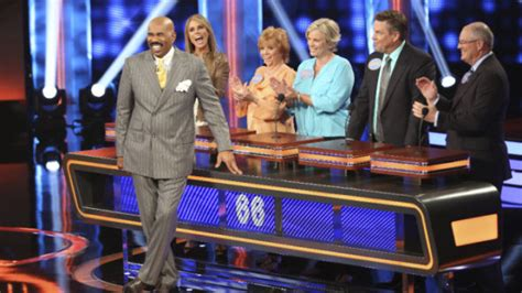 what is celebrity family feud celebrity family feud season four steve harvey game show
