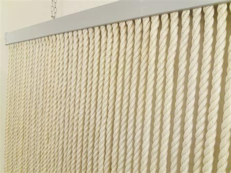 tenda da tenda da porta corda cotone naturale 125x240 gelsomini casa