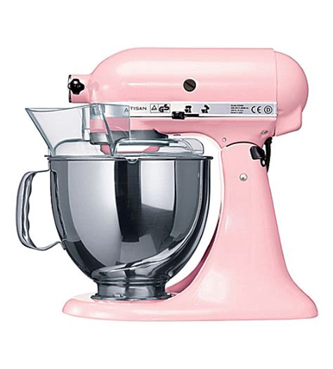 kitchenaid artisan mixer pink cook for the cure