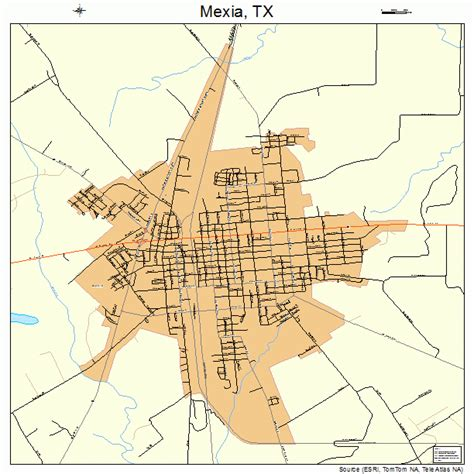 mexia texas map mexia texas map 4847916