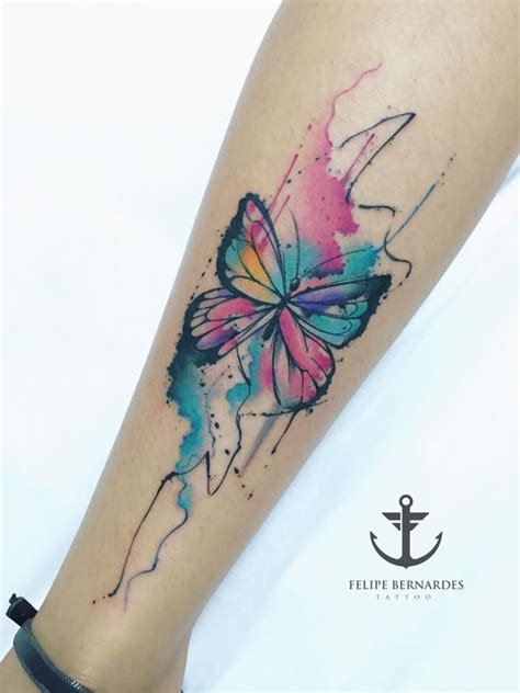 watercolor tattoo cover up pretty watercolor butterfly watercolor tattoos