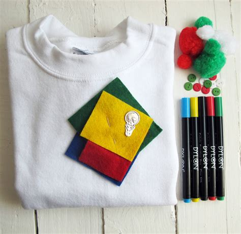 adults make your own christmas jumper craft kit by sarah