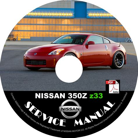 automotive repair manual 2006 nissan 350z roadster electronic throttle control 2006 nissan 350z coupe factory service repair shop manual on cd z33 vq35de