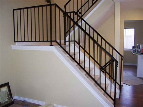 Handrails For Indoor Stairs Indoor Iron Stair Railings Ornamental Luxurious Iron Stair Railings Design Outdoor Wrought