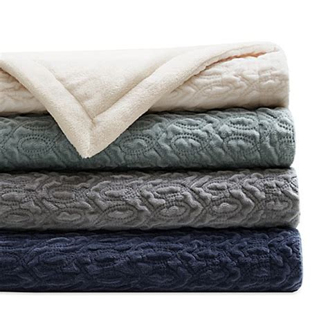 bed bath and beyond throws regency heights quilted velvet throw blanket bed bath