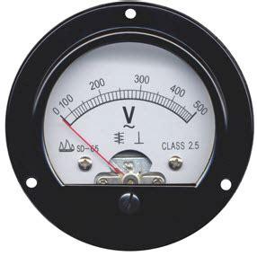 voltmeters types  voltmeters   explanation  advantages