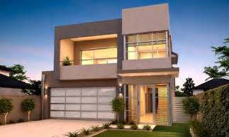 Narrow Lot Houses by Narrow Lot Homes Perth 2 Storey Home Design Rosmond