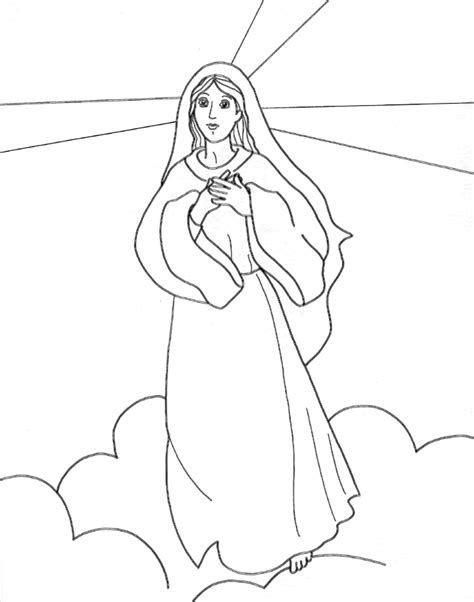 coloring pages for virgin mary virgin mary coloring pages coloring home