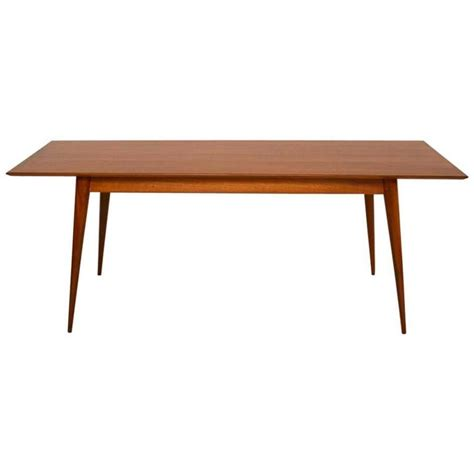 retro walnut dining table vintage 1950s at 1stdibs