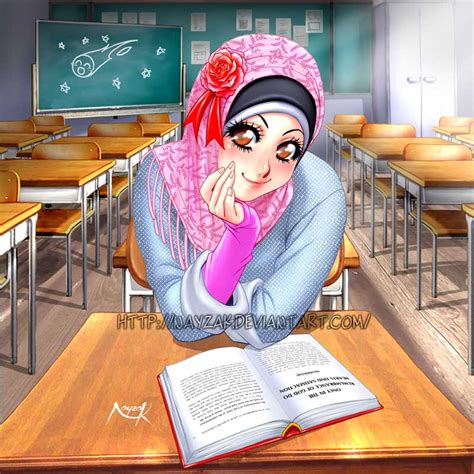 Cerita Anime Hijab Kartun Muslimah Part 2 Jiwarosak Com