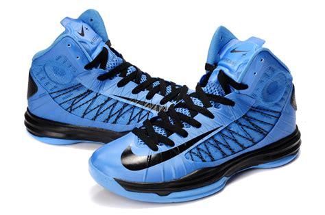 blue and black basketball shoes popular nike lunar hyperdunk x basketball shoes