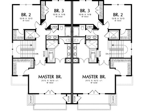 davis rustic duplex plan 055d 0866 house plans and more multi family plan 76176 at best 25 multiple family house
