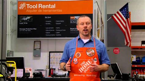 tool rental for landscaping equipment the home depot
