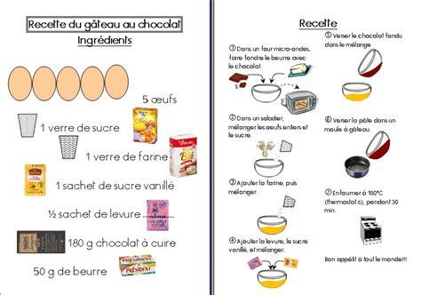recettes cuisine l馮鑽e le gateau de novembre recettes illustr 233 es maternelle