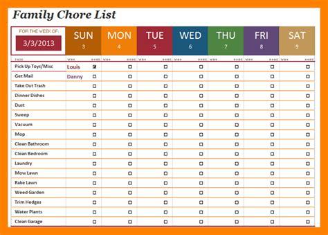 sample receipt pdf 9 family chore chart template teller resume