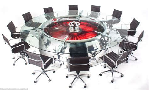 Engine Furniture by Uplifting Design The Office Furniture Made From Wings