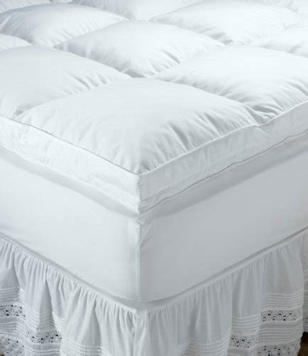 ll bean down comforters reviews l l bean queen down top feather bed bedding