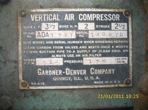 hp gardner denver compressor