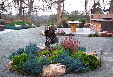 Xeriscaped Backyard Design by Modern Xeriscaping Ideas For Your Outdoor Space