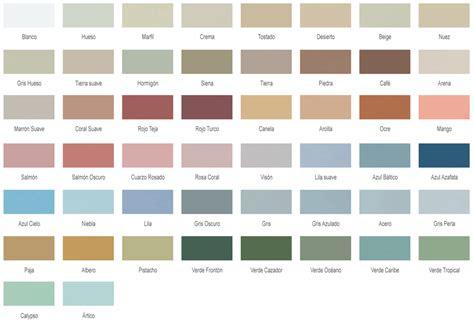 carta de colores de pinturas para interiores cartas de colores pinturas interior imagui