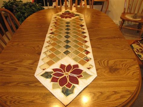 Quilted Table Runner Patterns by You To See Table Runner On Craftsy