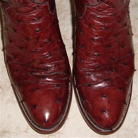 Handmade Ostrich Boots - for sale s handmade garner moss quill ostrich