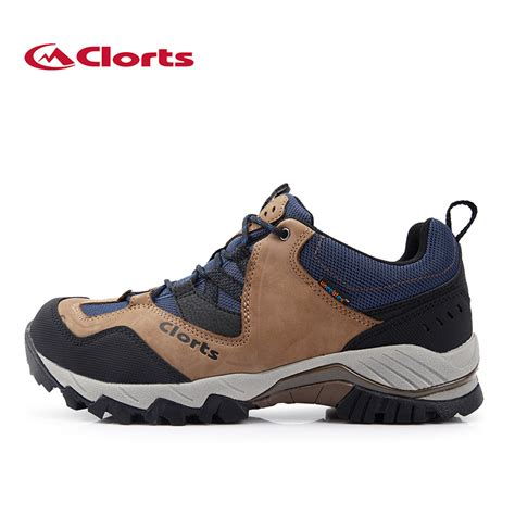 mountain climbing shoes clorts hiking shoes real leather outdoor shoes
