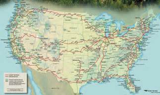 Map Of Amtrak Routes by Gallery For Gt Amtrak Map