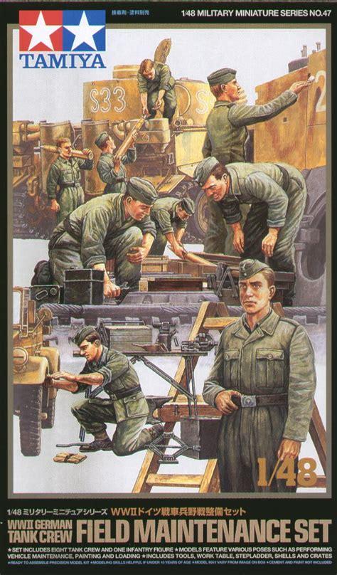 1 35 German Field Maintenance Team Tamiya Model Kit Mokit tamiya 1 48 wwii german tank crew field maintenance set 32547 ebay