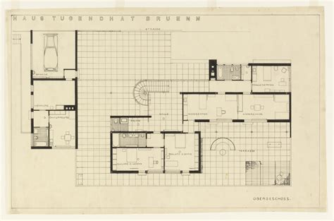 mies van der rohe house plans tugendhat house by ludwig mies van der rohe metalocus