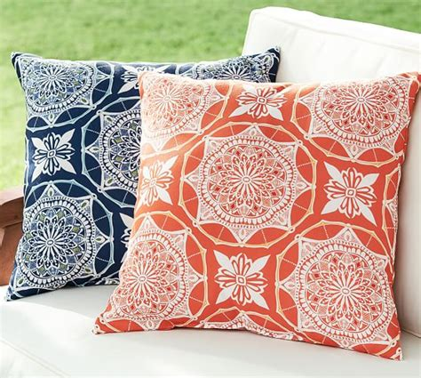 Pottery Barn Outdoor Pillow by Betsy Medallion Indoor Outdoor Pillow Pottery Barn