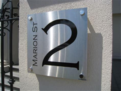 custom metal house signs australia custom signs