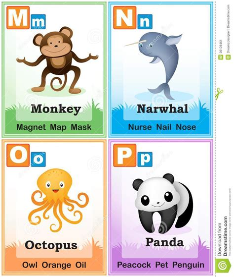 learn the alphabet learn abc with animal pictures teach your child to recognize the letters of the alphabet abcd for books alphabet learning book page 4 stock image image 36128461
