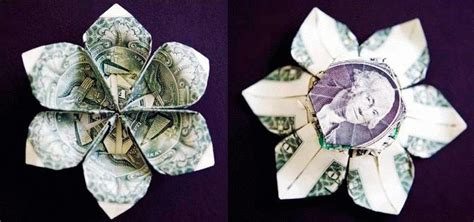 how to make origami with dollar bills money origami flower edition 10 different ways to fold a