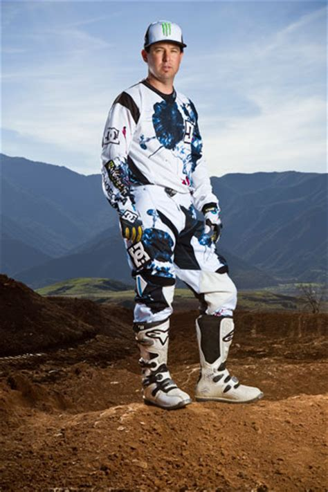 dc motocross gear dc creates exclusive gear for motocross legend