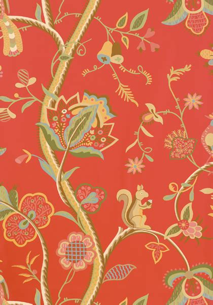 kirkwood red  collection shangri la  thibaut