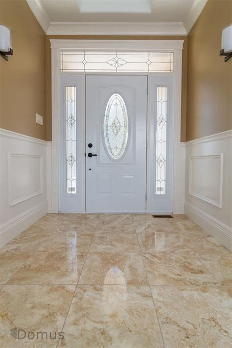glossy tile flooring at home s entrance tiles