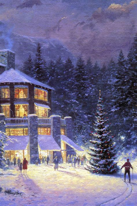 casa natalizia casa natalizia illuminata con albero di natale festivita