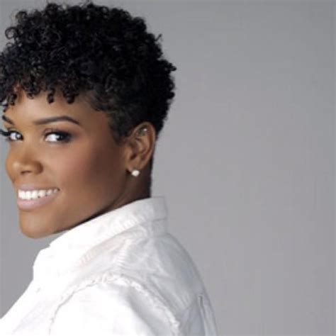 tapered curly weave style short tapered hairstyles for black women short tapered
