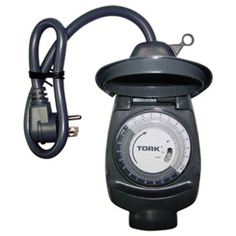 Outdoor Timers For Lights Tork 601a 24 Hour Mechanical Outdoor Timer