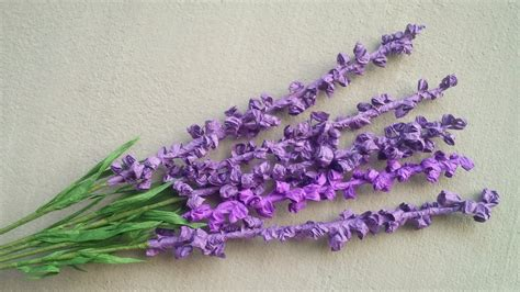 lavender paper flower tutorial abc tv how to make lavender paper flower from twisted