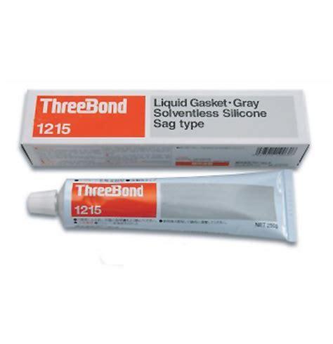 Lem Material Threebond High Temp Rtv Silicone Gasket Maker No 2 1215 rtv silicone liquid gasket grey threebond threebond sealants liquid gaskets cleaners