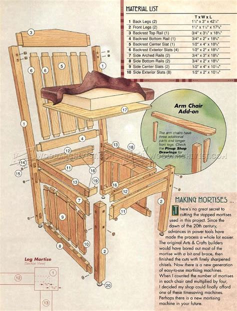 Dining Room Chair Plans Free Dining Room Chairs Plans Woodarchivist