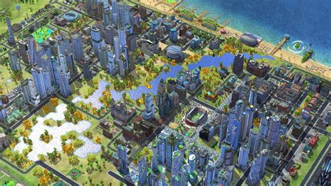 simcity buildit the adding lakes and rivers to simcity buildit