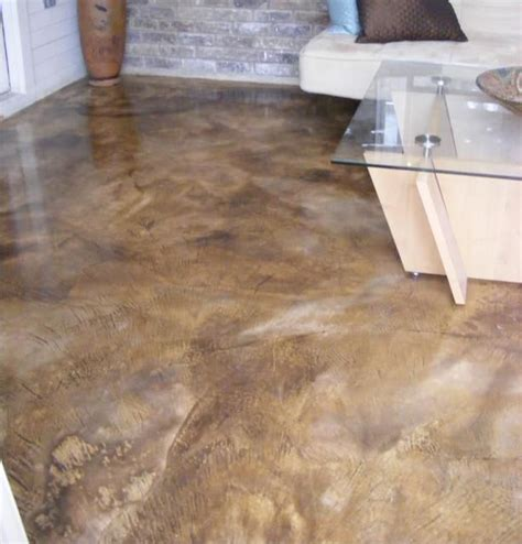 Concrete Stained Floors by Concrete Stained Floor For The Home