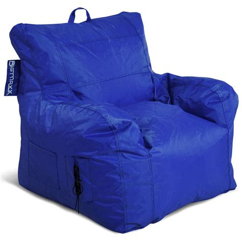 Armchair Bean Bag by Big Maxx Bean Bag Armchair Blue Dcg Stores