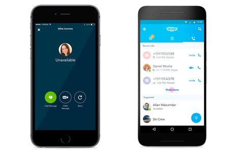 get skype for mobile skype is finally getting a fresh modern new look on
