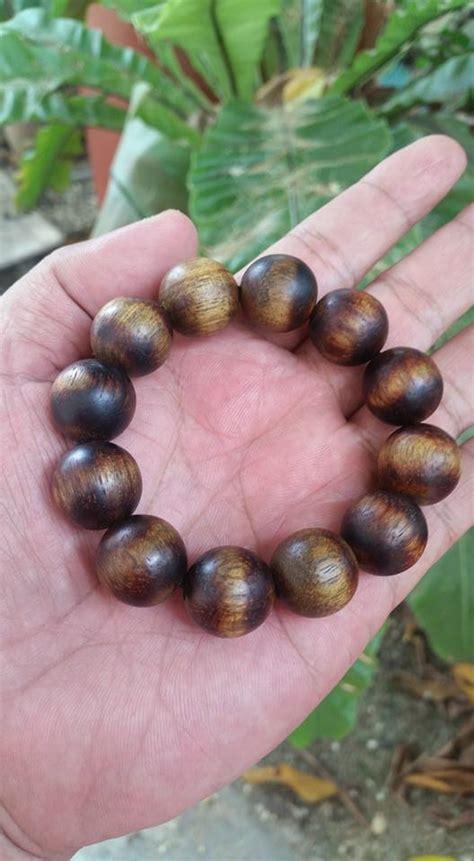 Gelang Tasbih Kayu Hitam kayu warisan malaysia gelang dan tasbih kayu
